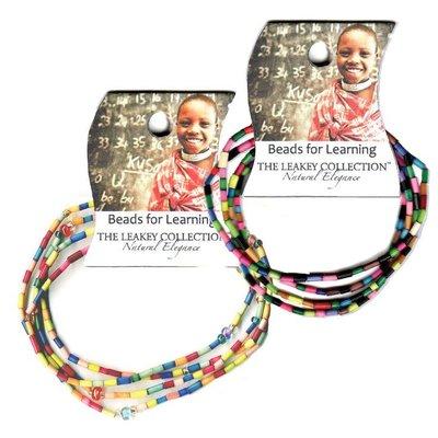 Swahili Imports Beads For Learning Bracelet