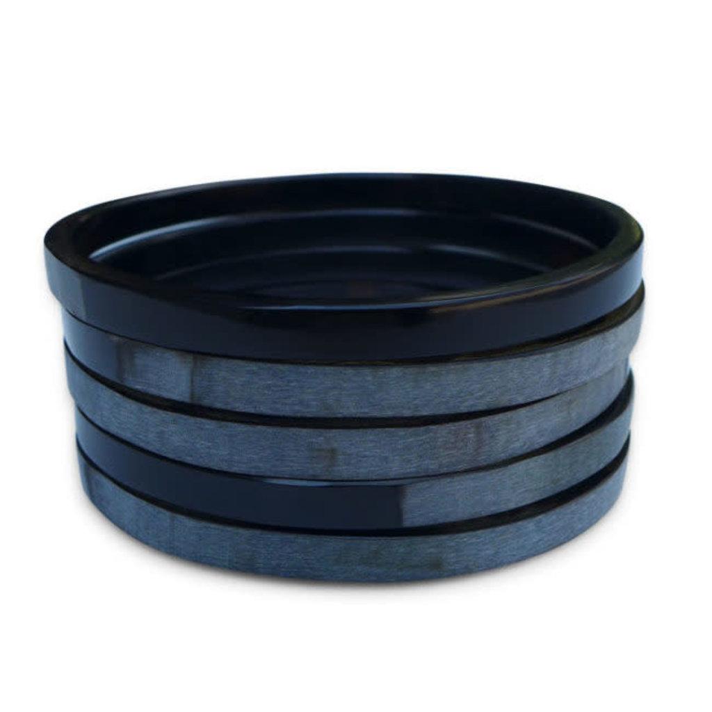 Fair Trade Winds Bedford Small Dark Horn Bracelet