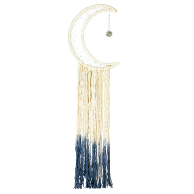 DZI Handmade Big Blue Moon Wall Hanging