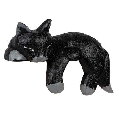 Ten Thousand Villages Black Napping Shelf Cat
