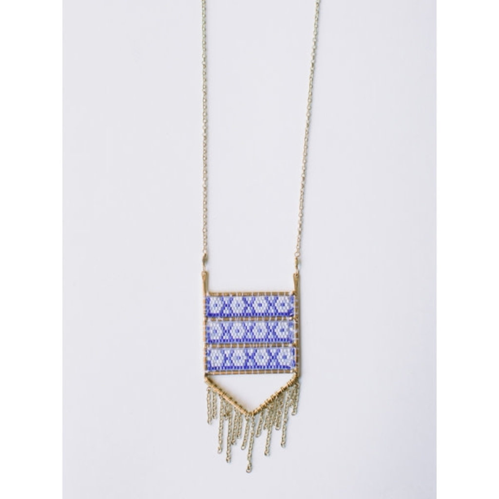 Mata Traders Blue Allegory Necklace