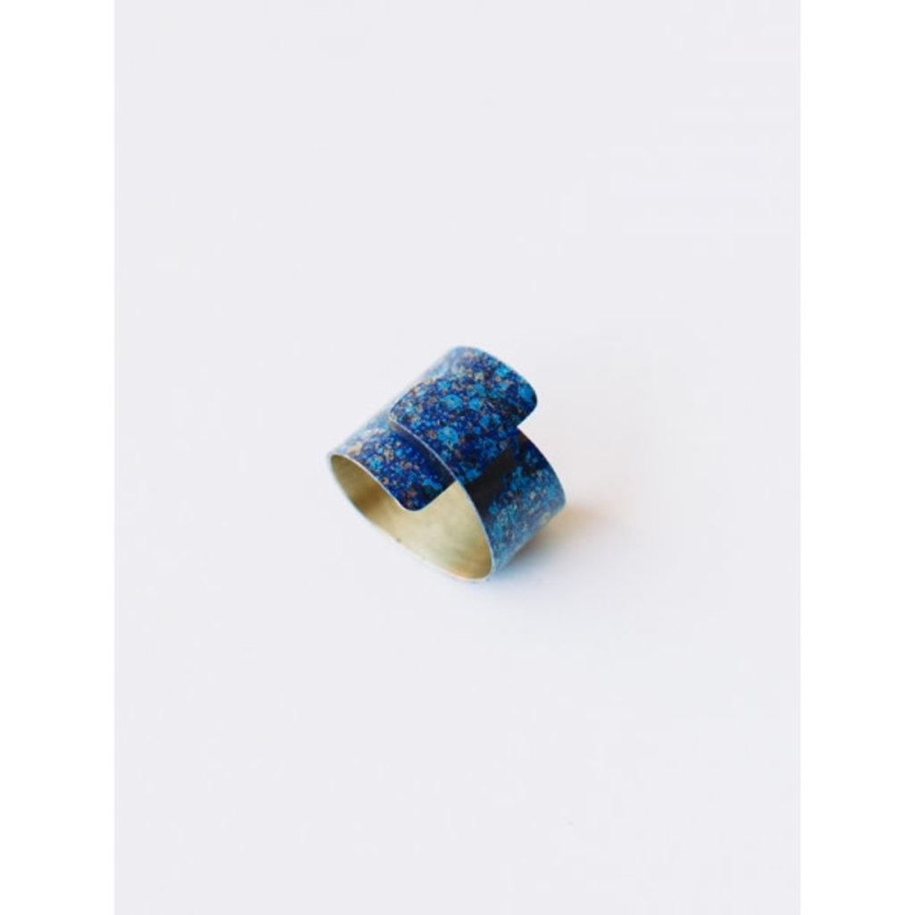 Mata Traders Blue Wrap Ring