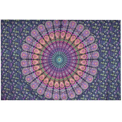 Mira Fair Trade Bohemian Tapestry Navy