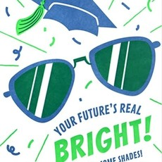 Good Paper Bright Shades Graduation Card