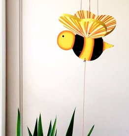 Tulia's Artisan Gallery Bumble Bee Flying Mobile