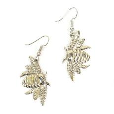 Minga Imports Bumblebee Alpaca Silver Earrings