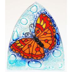 PamPeana Butterfly Fused Glass Night Light