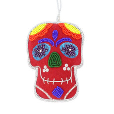 World Finds Calavera Ornament