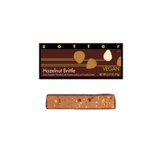 Zotter Chocolate Hazelnut Brittle Vegan Hand-scooped Chocolate