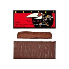 Zotter Chocolate Bird Eye Chili & Brandy Hand-scooped Chocolate