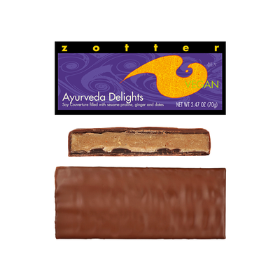 Zotter Chocolate Ayurveda Delights Vegan Hand-scooped Chocolate
