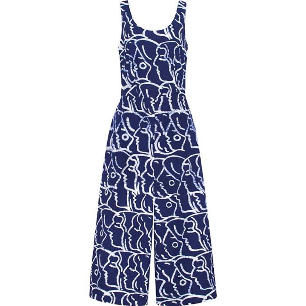 Global Mamas Navy Sisters Women's Jumpsuit