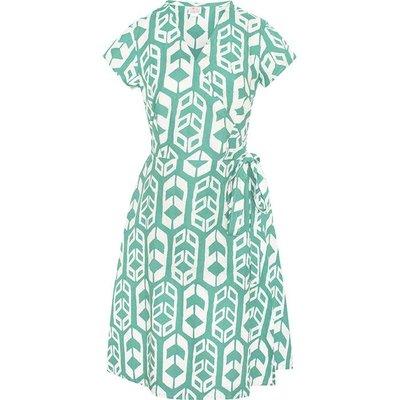 Global Mamas Sage Shields Wrap Dress