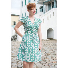 Global Mamas Sage Shields Wrap Dress