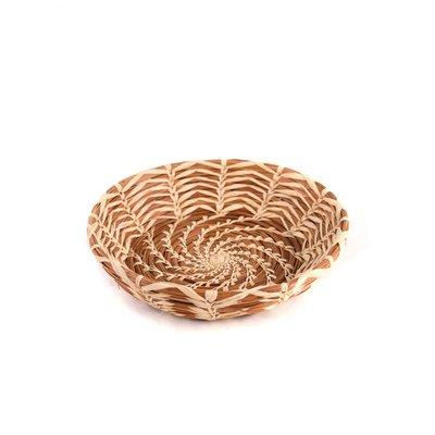 Mayan Hands Catarina Pine Needle and Wild Grass Basket