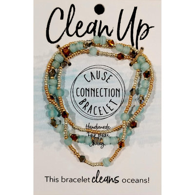 World Finds Cause Bracelet for Clean Oceans