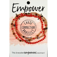 World Finds Cause Bracelet to Empower Women
