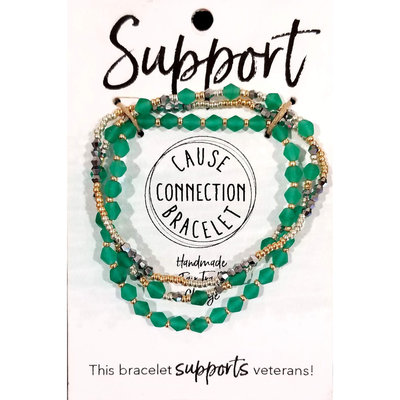 World Finds Cause Bracelet to Support Veterans