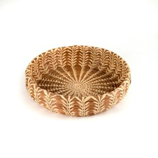 Mayan Hands Cecilia Pine Needle and Wild Grass Basket