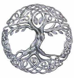 Global Crafts Celtic Tree of Life Drum Art