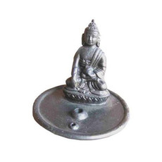 Ganesh Himal Ceramic Buddha Incense Burner