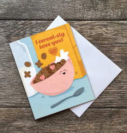 Good Paper Cereal-sly Love You Card