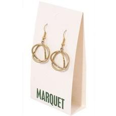 Marquet Fair Trade Chaiyo Brass Earrings