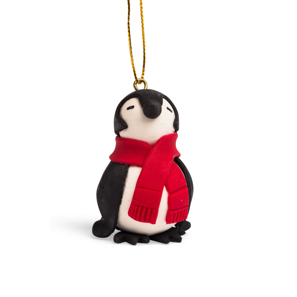 Ten Thousand Villages Chilly Penguin Ornament
