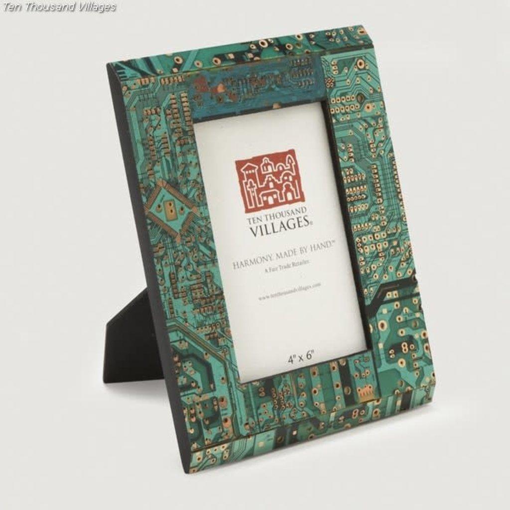 Ten Thousand Villages Circuit Board Frame