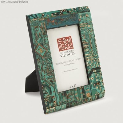Ten Thousand Villages Circuit Board Frame