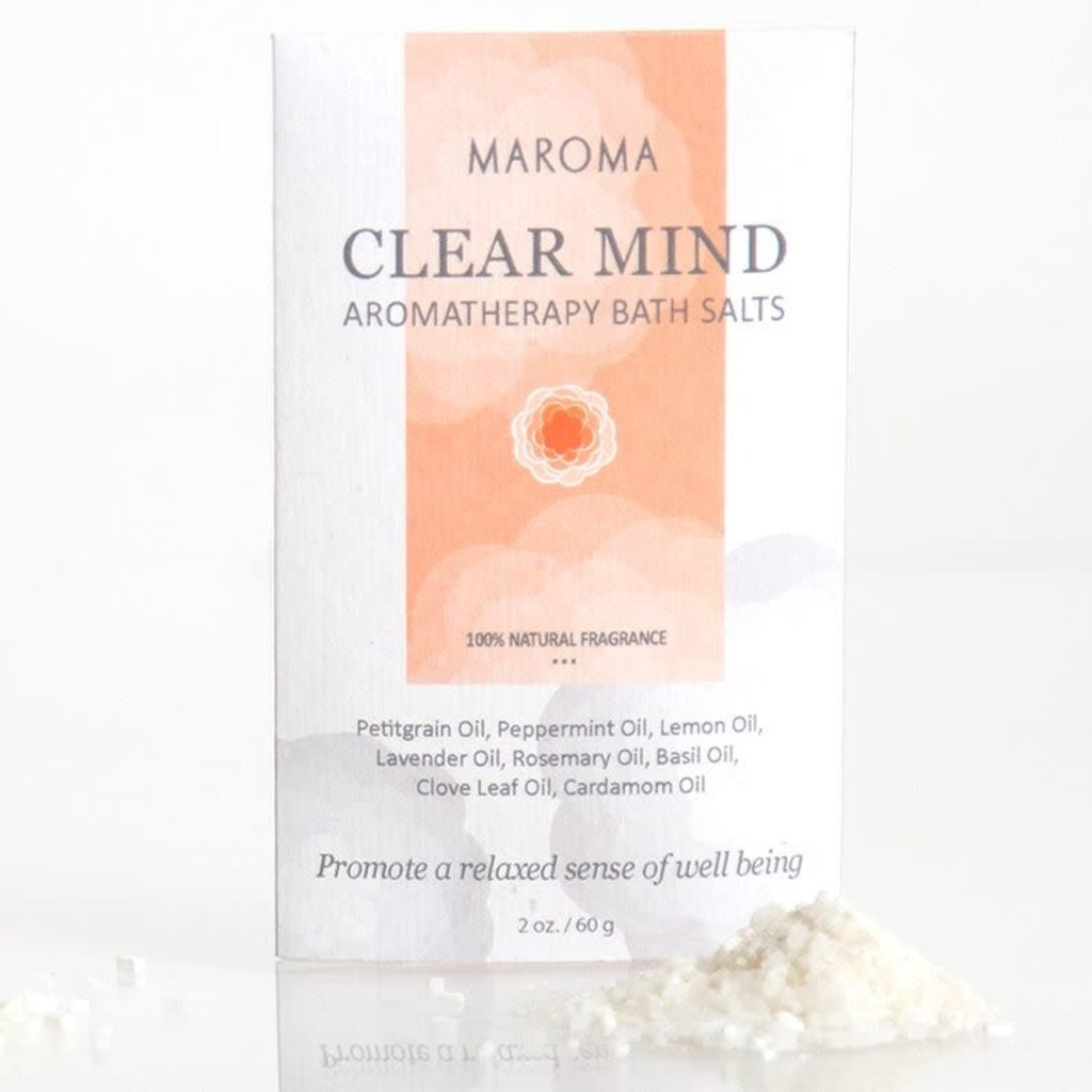 Maroma Clear Mind Aromatherapy Bath Salts