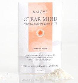 Maroma Aromatherapy Bath Salts: Clear Mind
