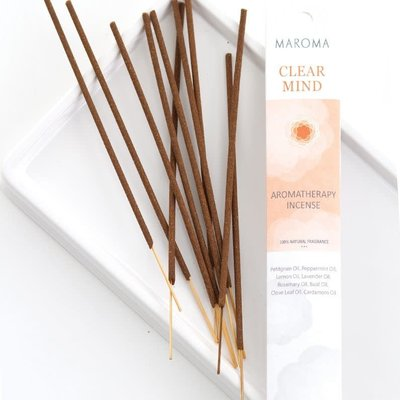 Maroma Clear Mind Aromatherapy Incense