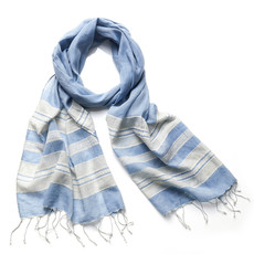 Serrv Coastal Stripe Cotton Scarf