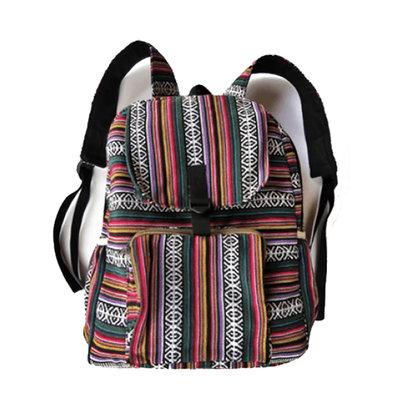 Ganesh Himal Cotton Backpack in Gyari Fabric
