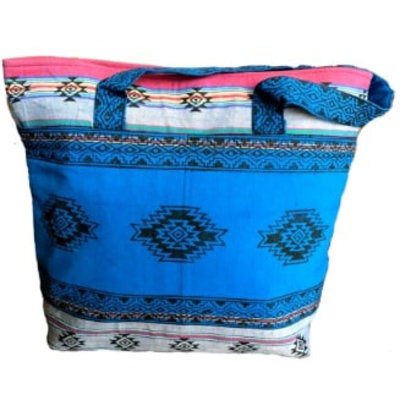 Ganesh Himal Cotton Blockprint Tote Bag