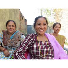 Ganesh Himal Cotton Cosmetic Bag: Assorted Prints