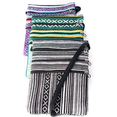 Ganesh Himal Cotton Gyari 4-Zip Passport Bag