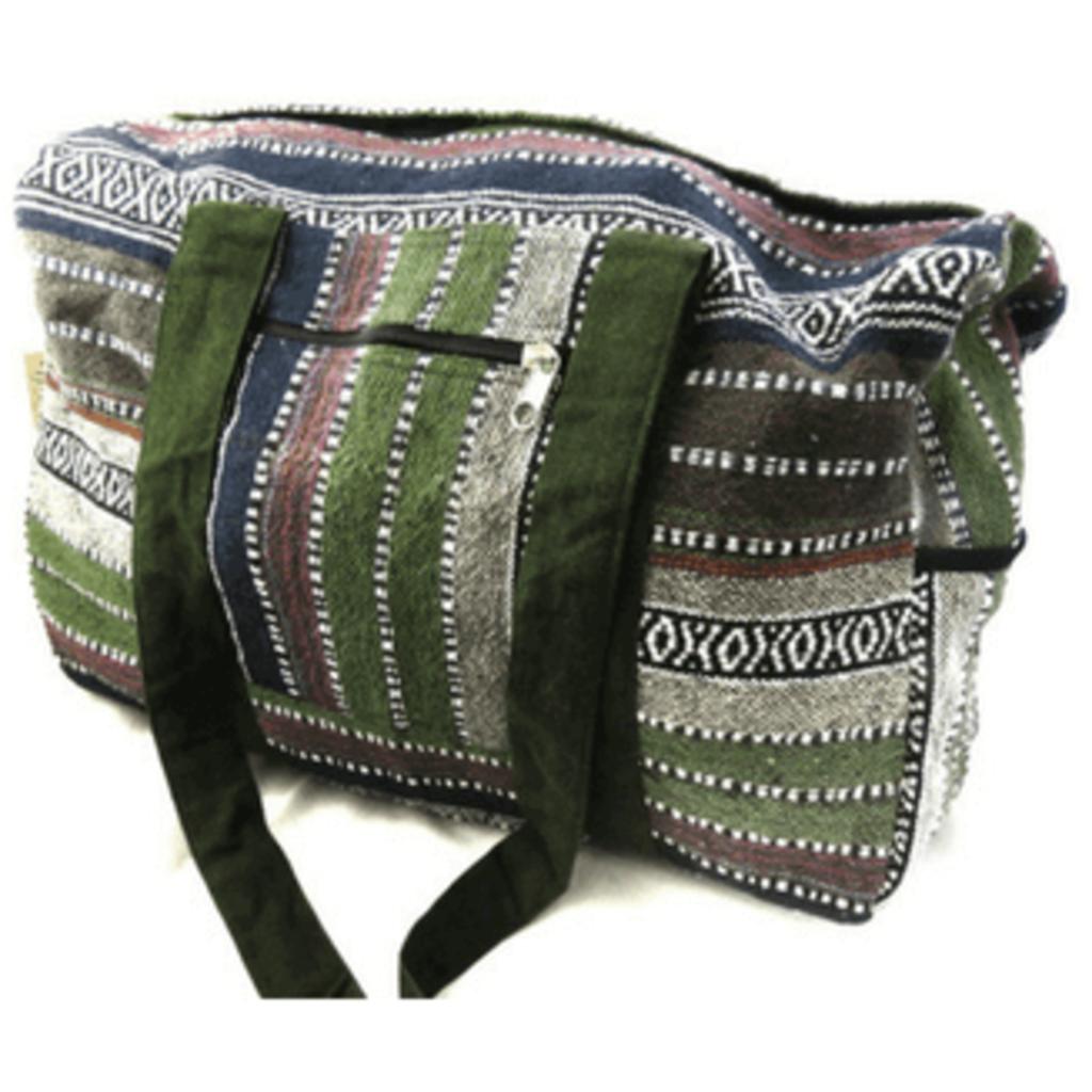 Ganesh Himal Cotton Gyari Weave Duffel Bag