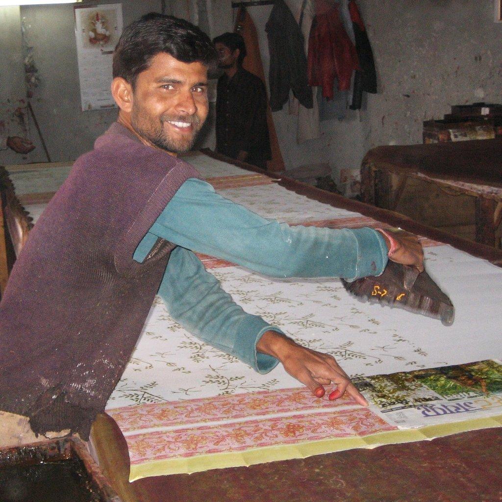 Ten Thousand Villages Cotton Paisley Bathrobe
