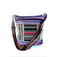 Ganesh Himal Cotton Patch Bucket Gyari Weave Bag