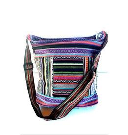 Ganesh Himal Cotton Patch Bucket Gyari Weave Bag
