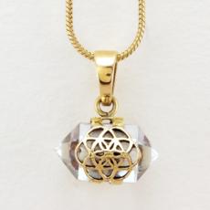 DZI Handmade Crystal Seed Necklace