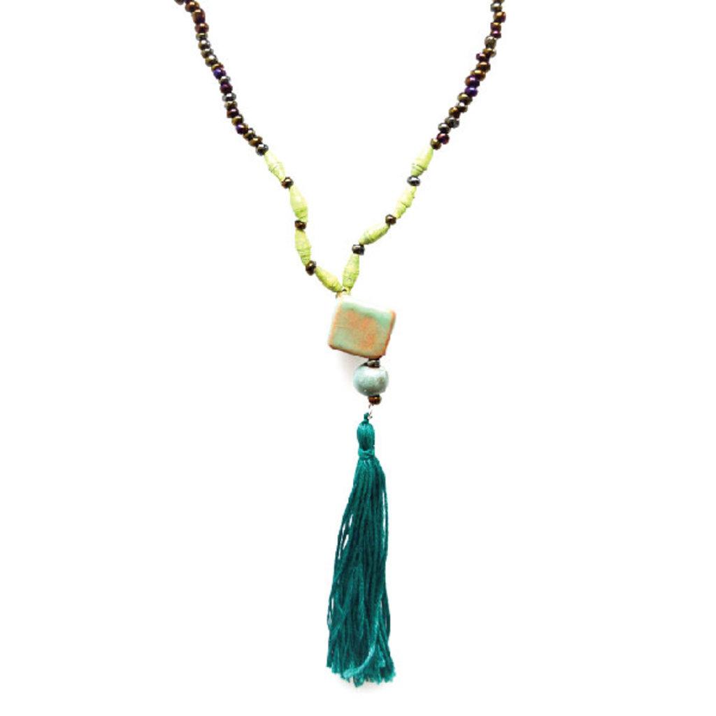 Imani Workshops Cube Necklace