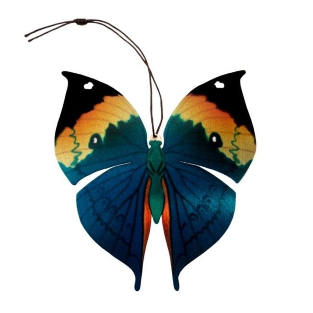 Tulia's Artisan Gallery Dead Leaf Butterfly Ornament Bookmark