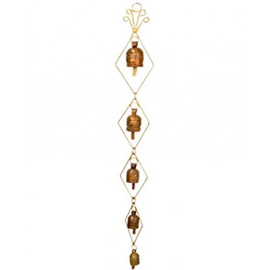 Mira Fair Trade Do-Re-Mi Copper Bells - 30""