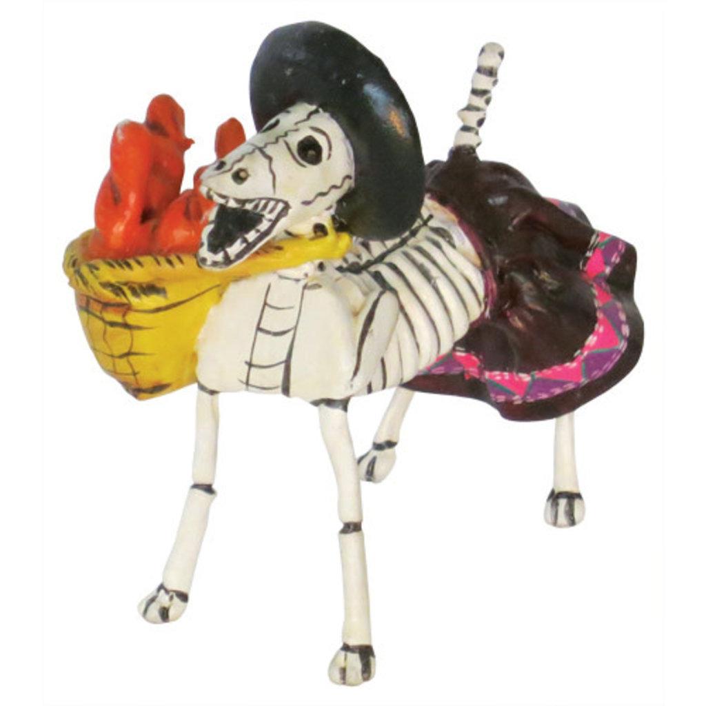 Inter-American Trading Dog Skeleton Calaca