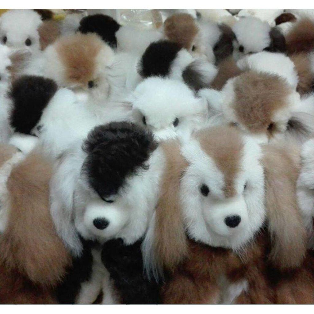 Blossom Inspirations Doggie Alpaca Stuffed Animal Toy