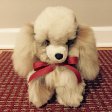 Blossom Inspirations Doggie Alpaca Stuffed Animal Toy