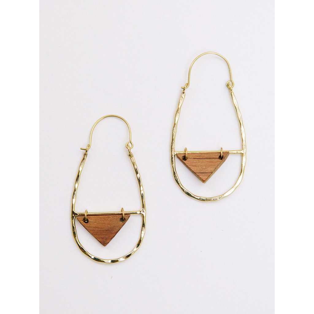 Mata Traders EARRINGS LUCCA GOLD